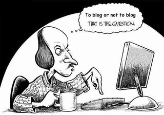 Shakespeare-blogging